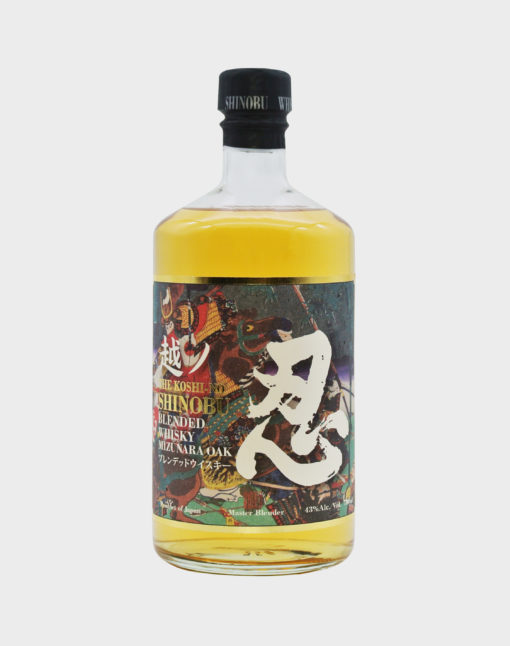 The Koshi-No SHINOBU Blended Whisky