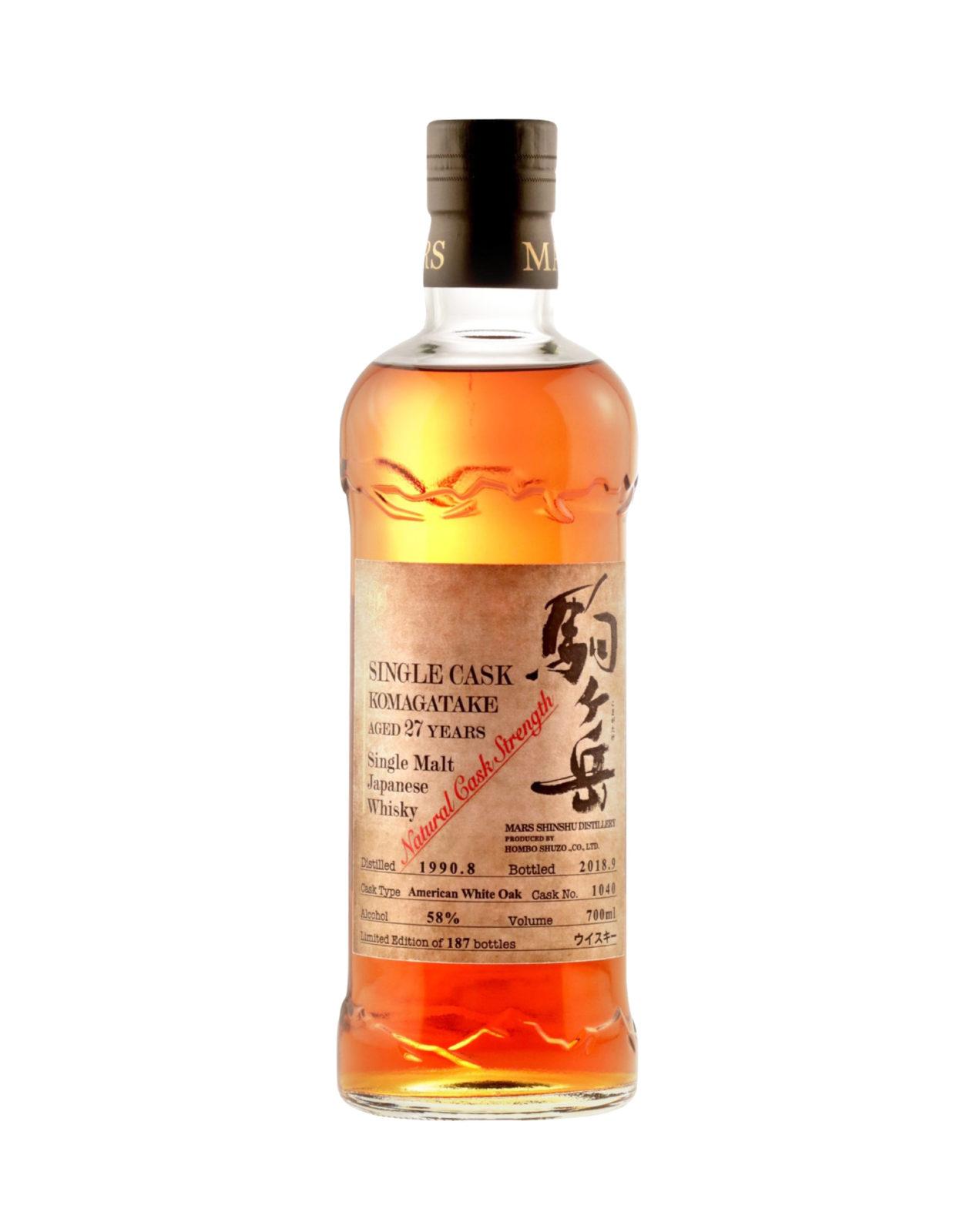Mars Komagatake Single Cask Single Malt 1040 Japanese Whisky