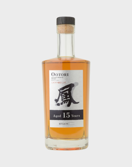 Ootori Japanese Blended Whisky 15 Years Old