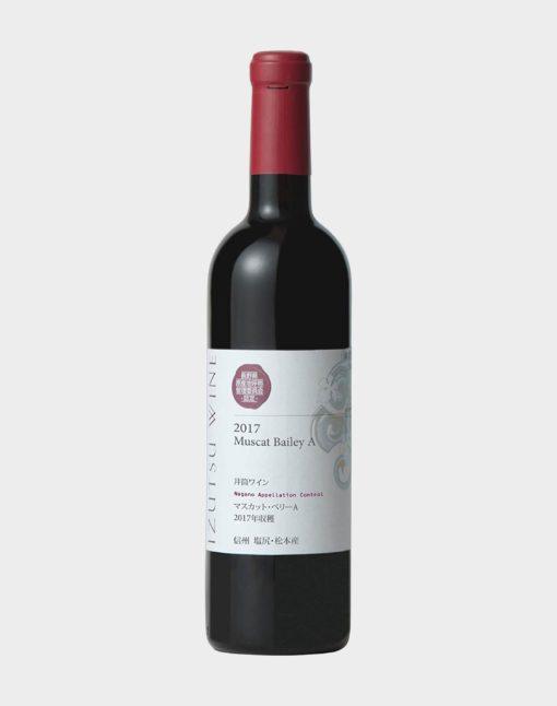 Izutsu Winery Muscat Bailey A Nagano 2017