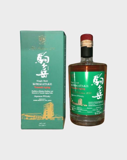 Mars Komagatake Hojo Selection 2018 Tsunuki Aging Single Malt Whisky