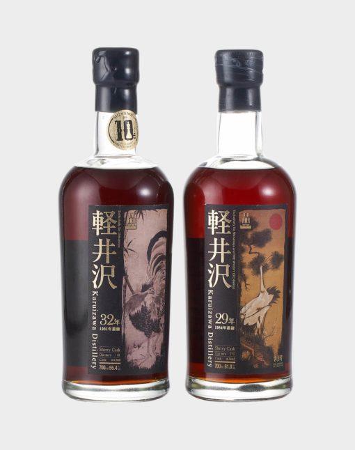 Karuizawa-32-Year-Old-Cask-4380-29-Year-Old-Cask-3662-Set