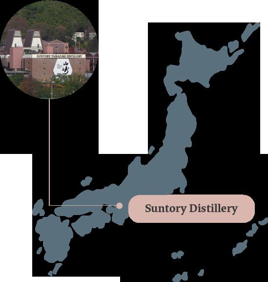 suntory map