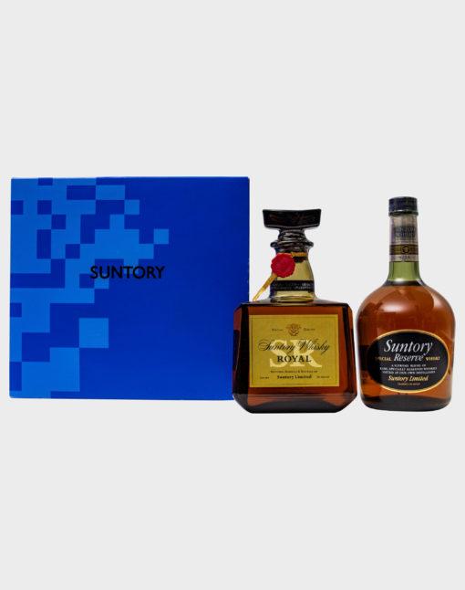 Suntory Royal SR & Reserve Gift Set