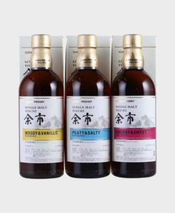 Nikka Yoichi Single Malt 3 Bottle Set