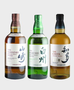 Suntory intro whiskies