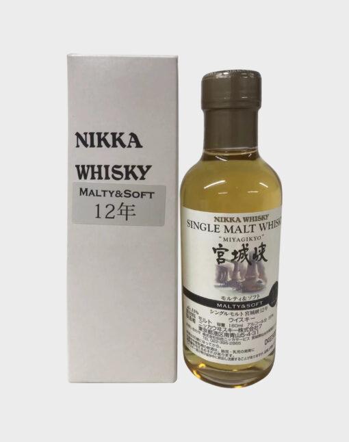 Nikka Miyagikyo Malty & Soft 12 Year Old 180ml